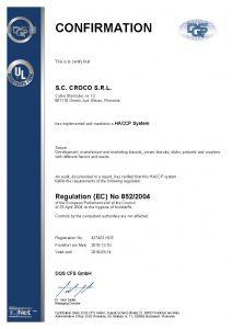 427422 - Croco S.R.L. - certificate - English(US) - 2015-12-10 - HCE