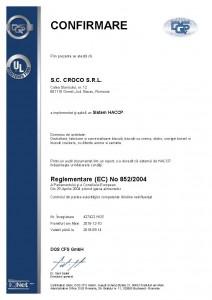 427422 - Croco S.R.L. - certificate - Romanian - 2015-12-10 - HCE