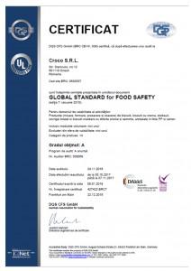 427422 - Croco S.R.L. - certificate - Romanian - 2016-12-22 - BRC7