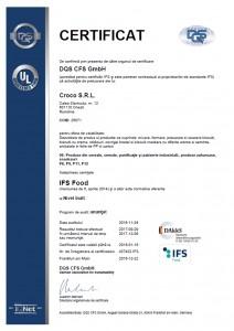 427422 - Croco S.R.L. - certificate - Romanian - 2016-12-22 - IFS